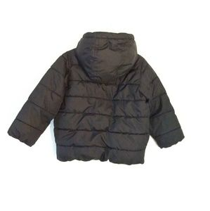 The Children's Place Jackets & Coats - Black Puffer Coat Jacket Toddler 4T